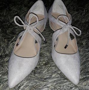 Grey heels 💎